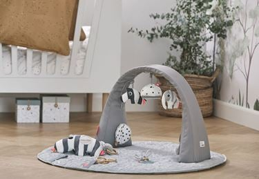 Bilde av Done by Deer Babygym, Deer Friends Activity gym, grey