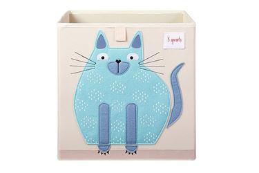 Bilde av 3 Sprouts Oppbevaringskasse, Katt