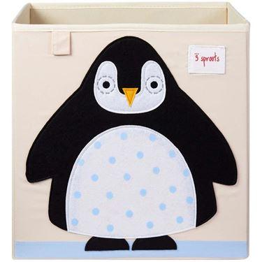 Bilde av 3 Sprouts Oppbevaringskasse, Pingvin