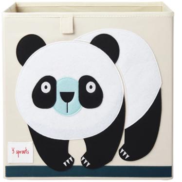 Bilde av 3 Sprouts Oppbevaringskasse, Panda