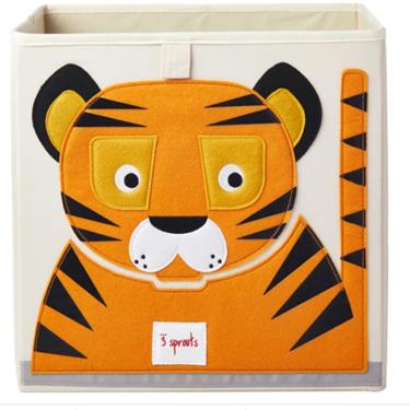 Bilde av 3 Sprouts Oppbevaringskasse, Tiger