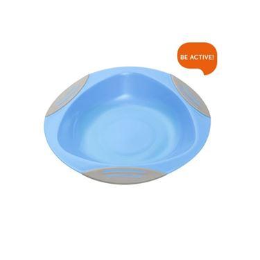Bilde av Babyono Skål med sugekopp, Blå
