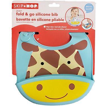 Bilde av Skip Hop Zoo Silikonsmekke, Giraffe,6m+