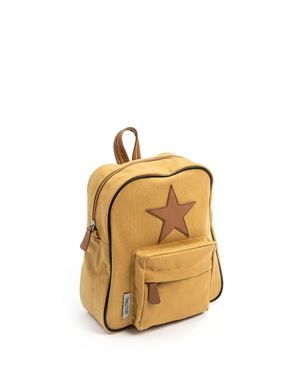 Bilde av Smallstuff Ryggsekk, Curry - Leather Star