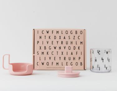 Bilde av Design Letters Grow With Your Cup, Tritan, Nude