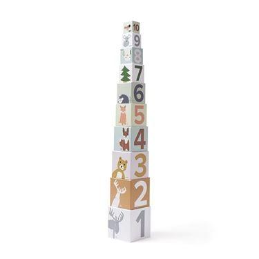 Bilde av Kids Concept Stableklosser i Papp 1-10, Edvin