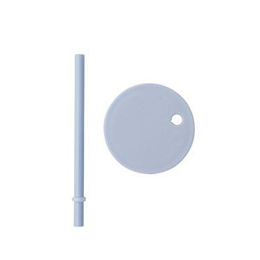 Bilde av Design Letters Straw lid, Lightblue (For Tritan)