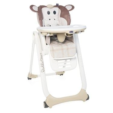 Bilde av Chicco Spisestol, Polly 2 Start, Monkey