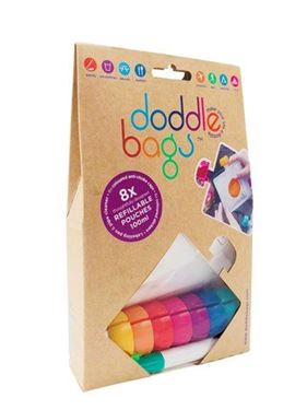 Bilde av Doddlebags XL - Gjenbrukbare Smoothieposer 4stk 200ml
