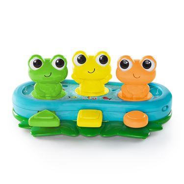 Bilde av Bright Starts Morsomme frosker, Trykk og hopp