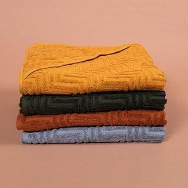 Bilde av Filibabba Badehåndkle - Zigzag Rust