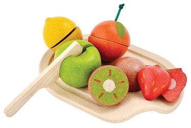 Bilde av Plan Toys Blandede frukter, sett