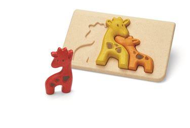 Bilde av Plan Toys Giraff puslespill