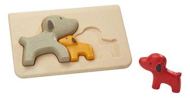 Bilde av Plan Toys Hund puslespill