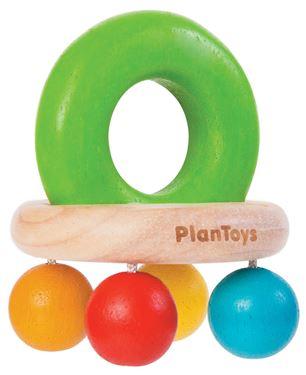 Bilde av Plan Toys Klokkerangle