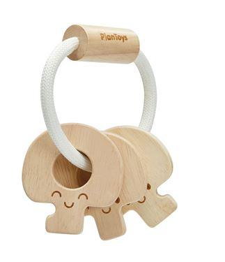 Bilde av Plan Toys Natur Baby nøkkelrangle