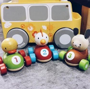 Bilde av Plan Toys Racerbil - Høne
