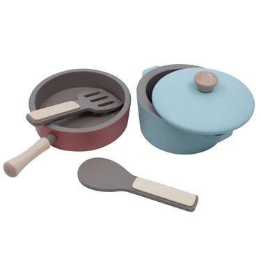 Bilde av Sebra Kjøkkenredskaper i Tre, warm grey