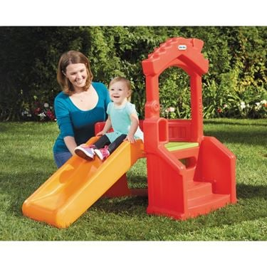 Bilde av Little Tikes Sklie med Lekehus, Climb and Slide
