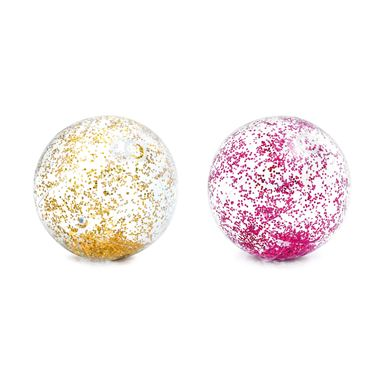 Bilde av INTEX Beachball, Glitter 51cm - Gull