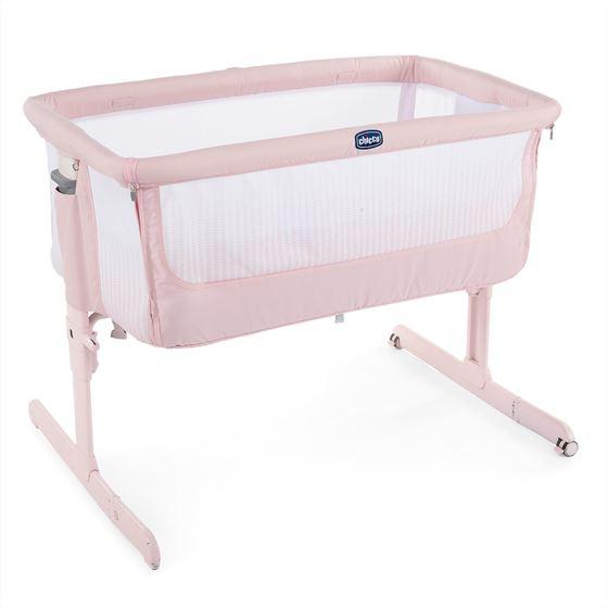 Bilde av Chicco Next2Me Air, Bedside Crib, Paradise Pink