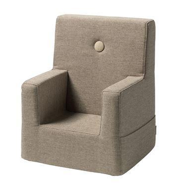 Bilde av byKlipKlap Kids Chair - Beige with sand buttons
