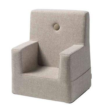 Bilde av byKlipKlap Kids Chair XL - Beige with sand buttons