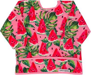 Bilde av Twistshake Long Sleeve Bib Watermelon