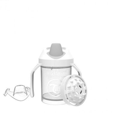 Bilde av Twistshake Mini Cup White 230ml 4+m