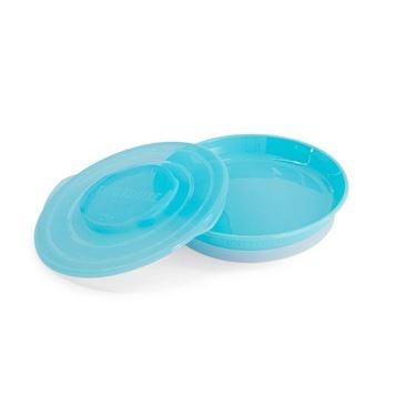 Bilde av Twistshake Plate 6+m Pastel Blue