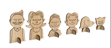 Bilde av Mamatoyz Møbler til Dukkehus - Menneskefigurer