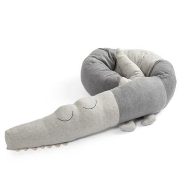 Bilde av Sebra Sengeslange Sleepy Croc, Elephant Grey