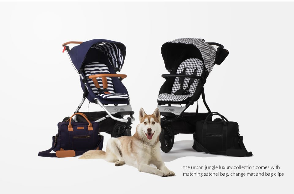 Mountain Buggy Urban Jungle Luxury Collection med stelleveske